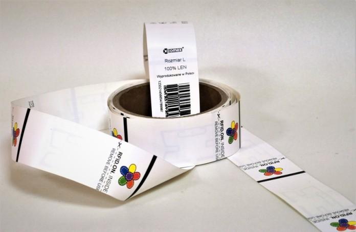 wszywki ubraniowe RFID